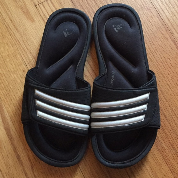 13a863dc5488 adidas Other - Kids adidas slides soccer sandals